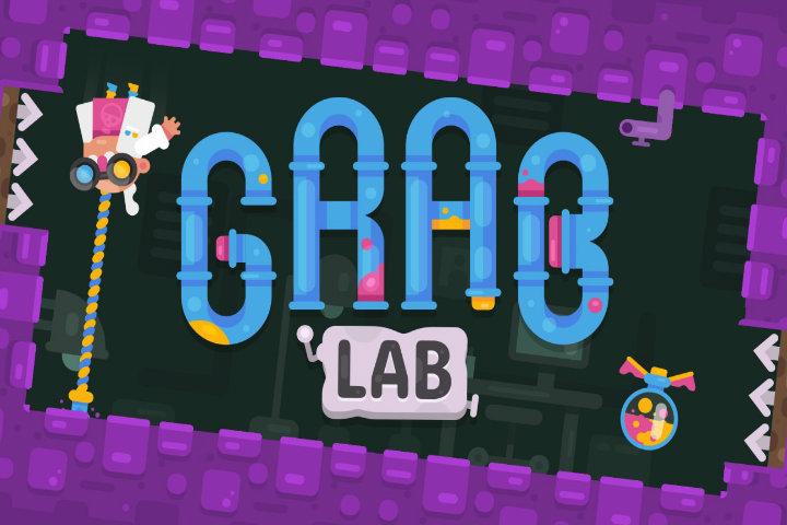 Grab Lab: il puzzle game vi farà aggrappare il 10 gennaio su Nintendo Switch!