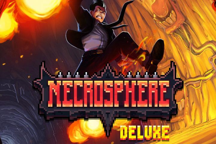 Necrosphere Deluxe: il metroidvania arriverà il 31 gennaio su Nintendo Switch e PS4!