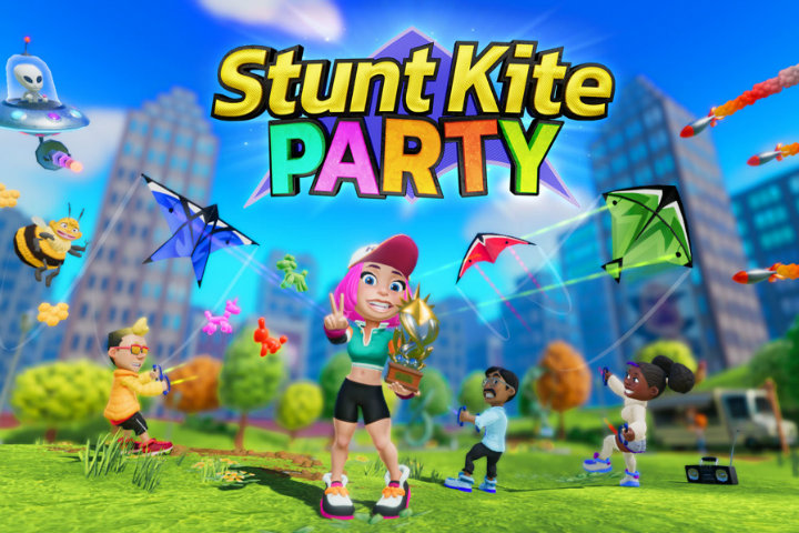 Stunt Kite Party: il party game volerà l'8 febbraio su Nintendo Switch!