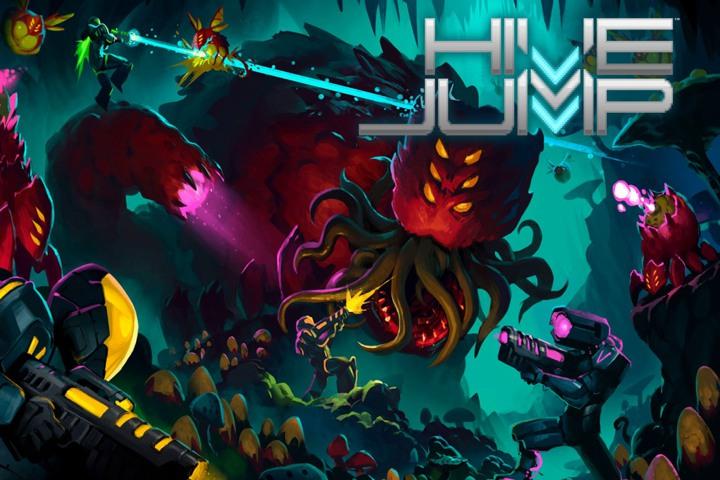 Hive Jump: giochiamo con un platform d'azione fantascientifico!