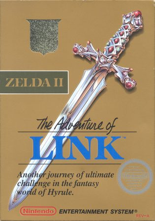 zelda II cover