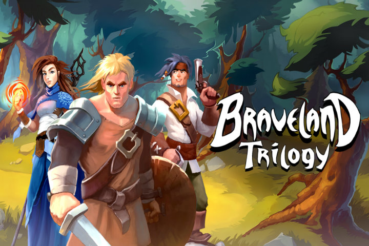 Braveland Trilogy: la raccolta di GdR d'avventura a turni arriverà il 7 marzo su Nintendo Switch!