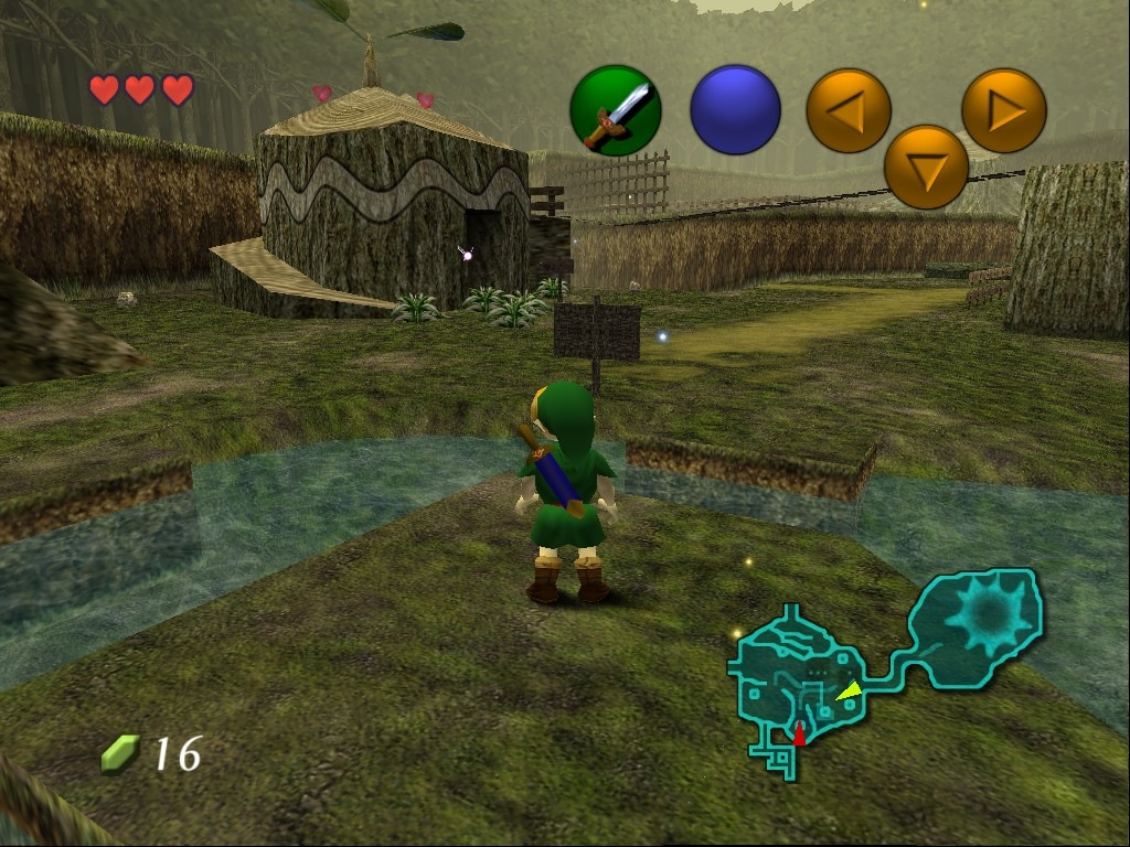 kokiri forrest in ocarina of time