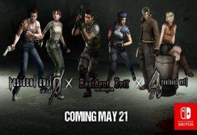 Resident Evil 0, 1 e 4 arriveranno il 21 maggio sull'eShop di Nintendo Switch!