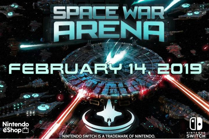 Space War Arena: lo strategic game arriverà in esclusiva il 14 febbraio su Nintendo Switch! [AGGIORNATO]