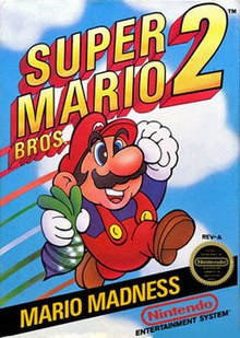 super mario bros 2 box art