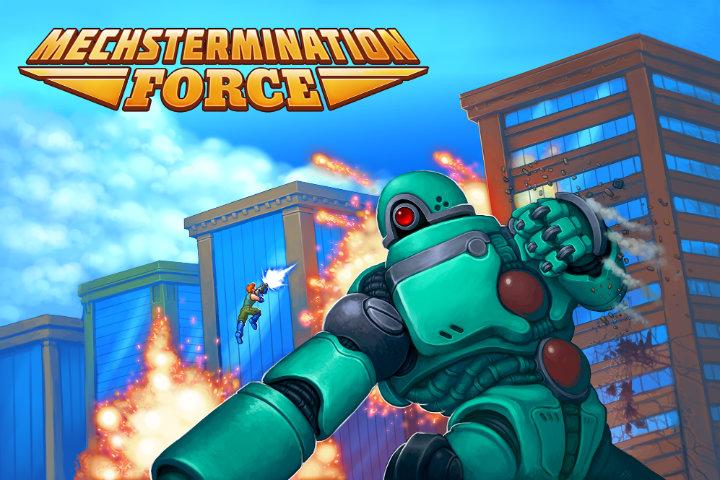 Mechstermination Force: il platform d'azione annunciato per Nintendo Switch!