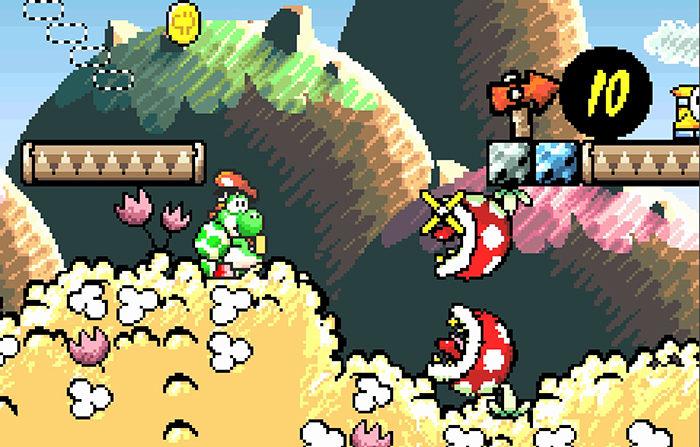 yoshi's island gameplay 2