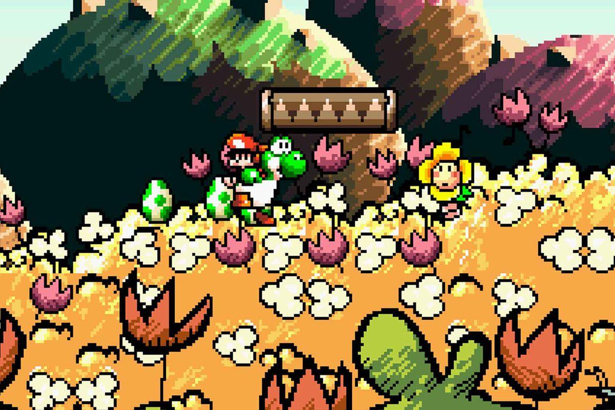 yoshi's island gameplay
