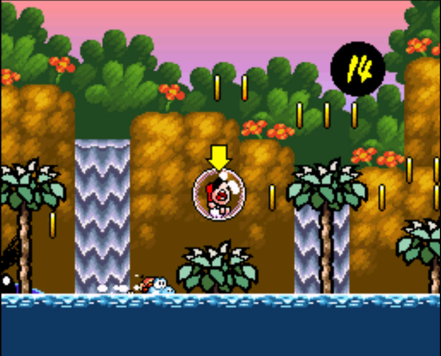 yoshi's island gameplay 3