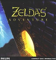 zelda's adventure box art
