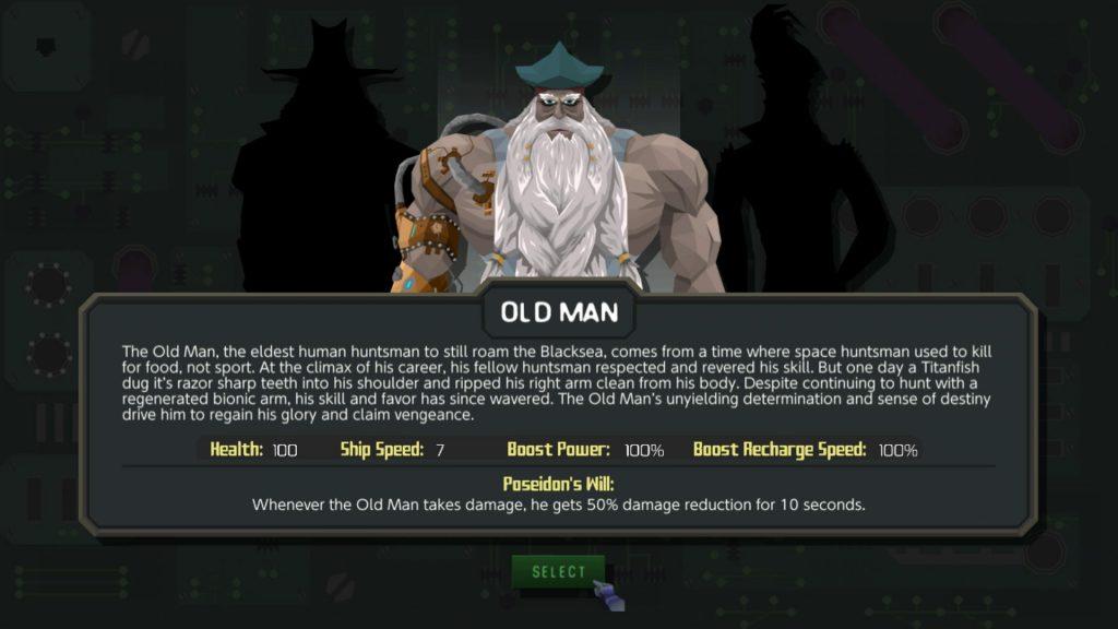 Personaggi Blacksea Odyssey