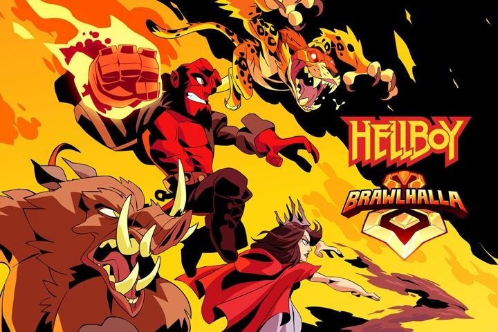 Brawlhalla: i personaggi di Hellboy arriveranno domani, 10 aprile, su PC e console!