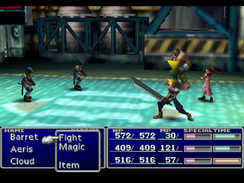 Final Fantasy 7 gameplay2