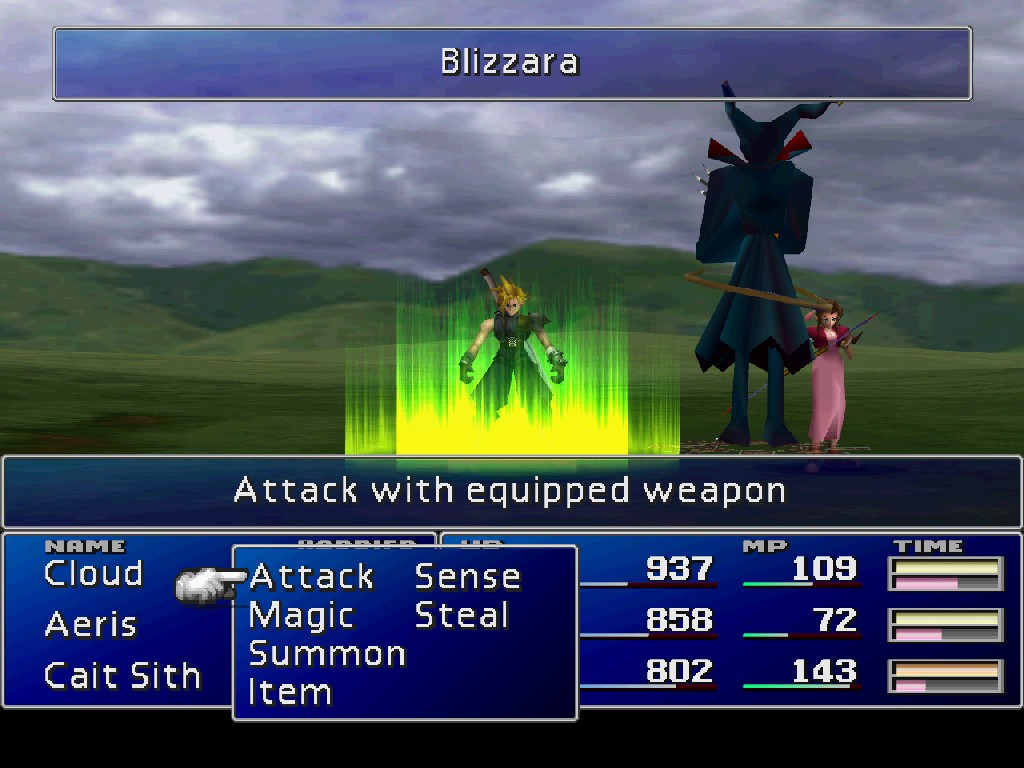 Final Fantasy 7 gameplay 3