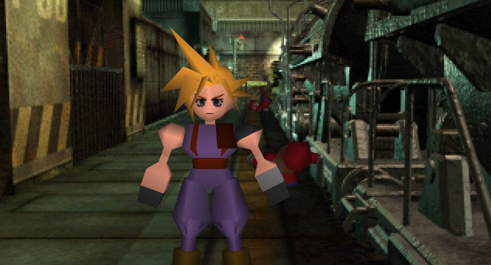 Final Fantasy 7 gameplay