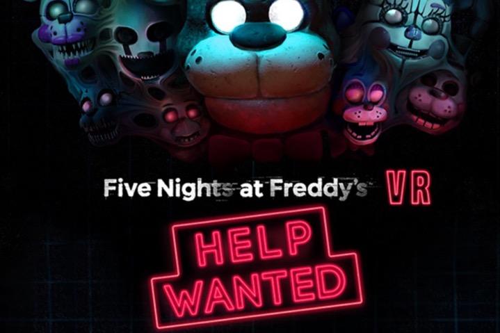 Five Nights at Freddy's VR: Help Wanted è stato rilasciato!