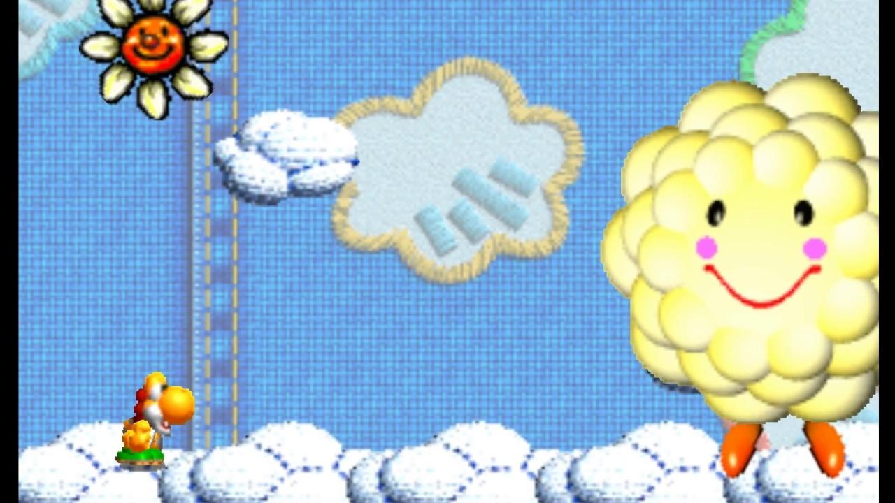 Yoshi's Story Gameplay 1