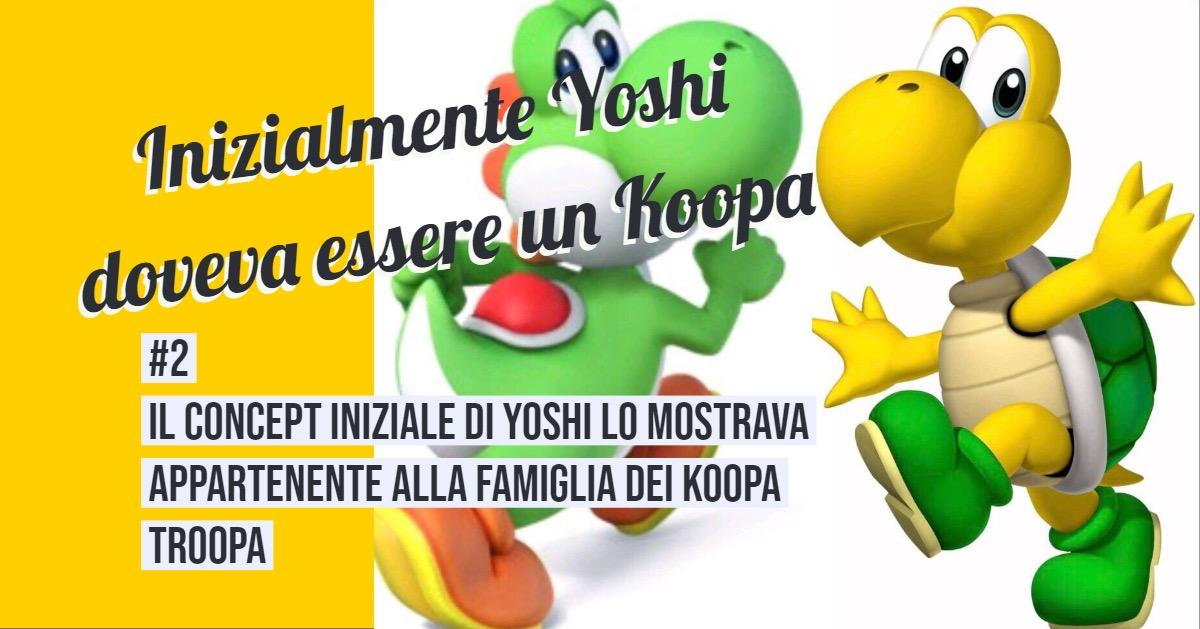 Curiosità su Yoshi 2