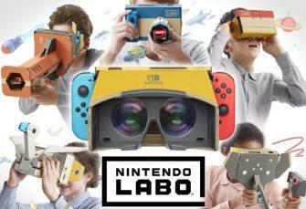 Il Nintendo Labo: Kit VR si mostra nel nuovo trailer di lancio, nuovi dettagli sulla nuova esperienza interattiva!