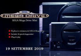 Mega Drive Mini da oggi finalmente disponibile