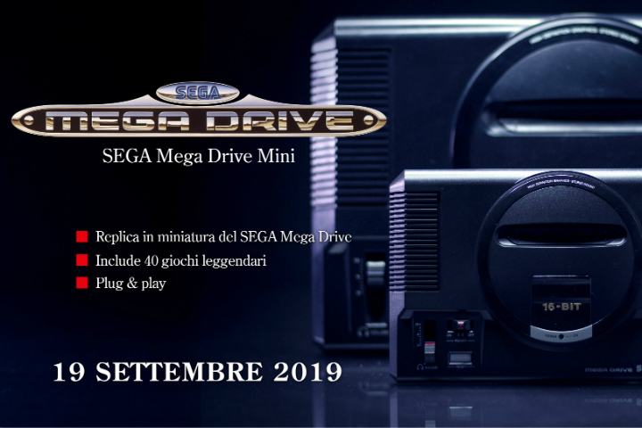 Mega Drive Mini da oggi finalmente disponibile