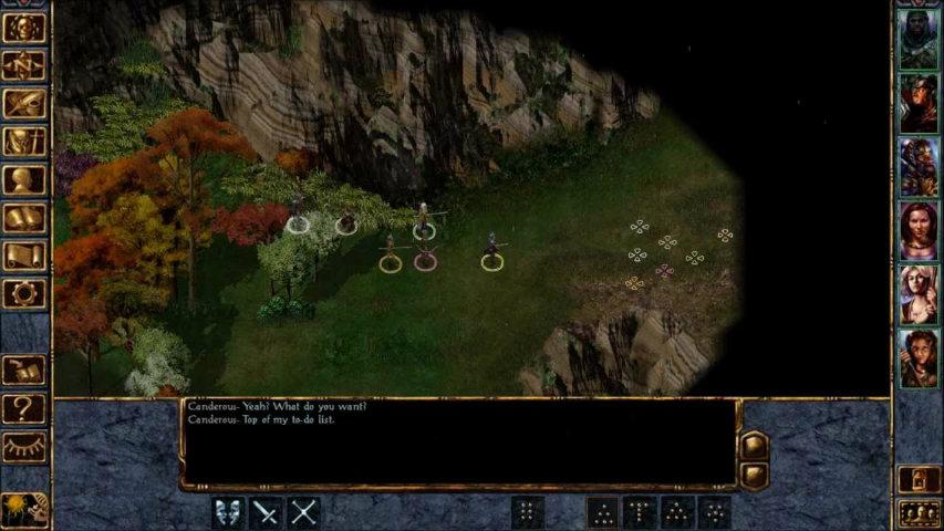 Baldur's Gate gameplay 1