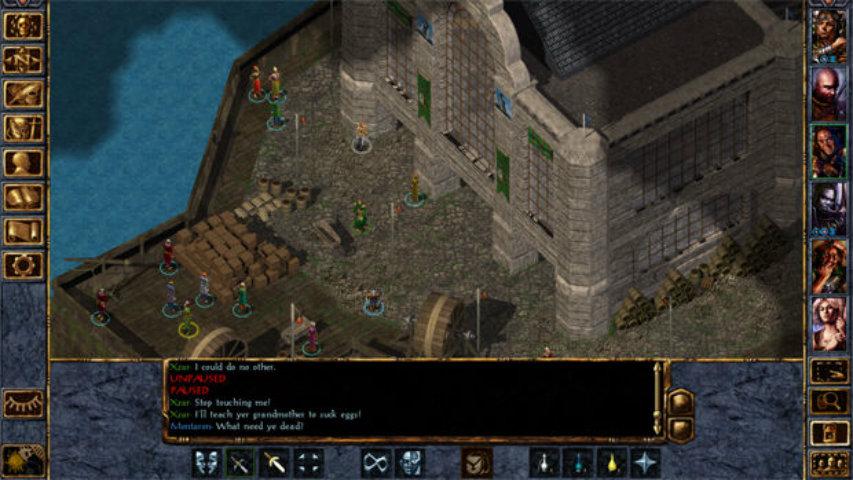 Baldur's Gate gameplay 2
