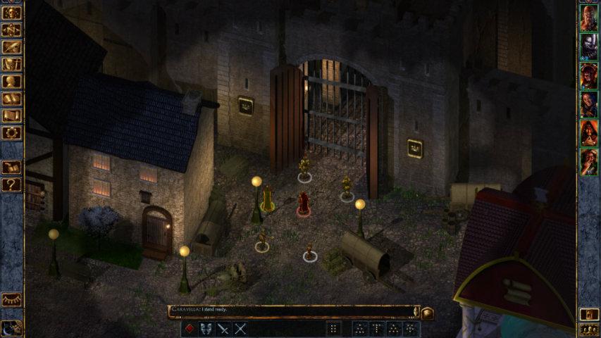 Baldur's Gate gameplay 3