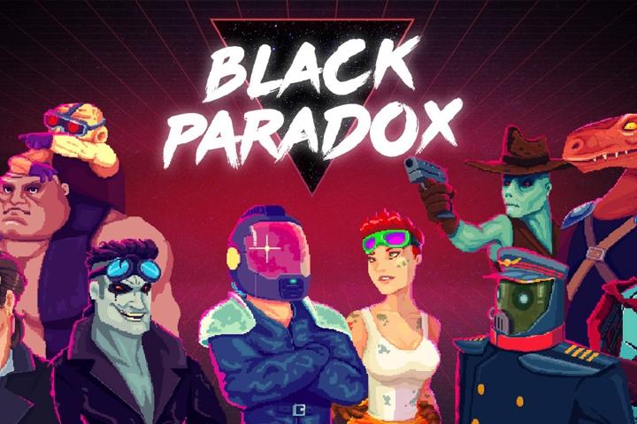 Black Paradox: lo shoot'em up roguelike arriverà tra il 1 e 3 maggio su PC e console!