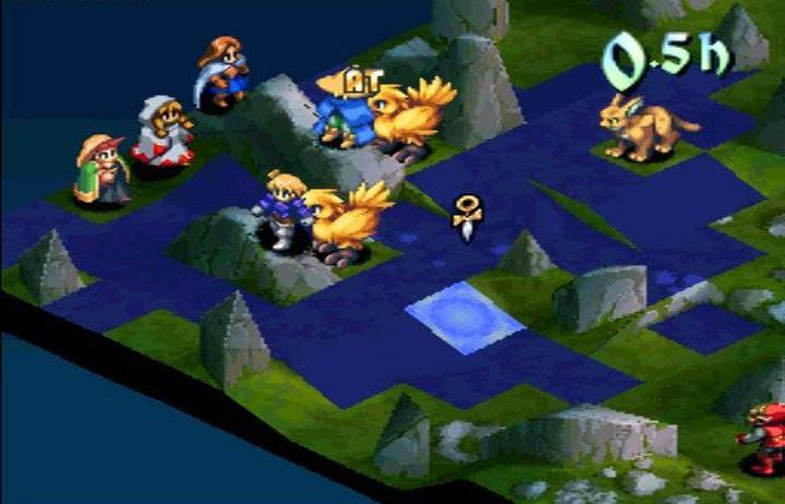 Final Fantasy Tactics gameplay 3