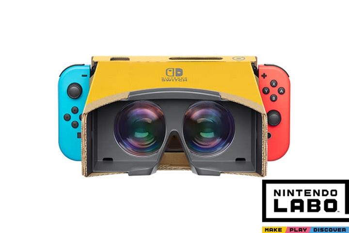 Nintendo Labo, Visore VR Toy-Con