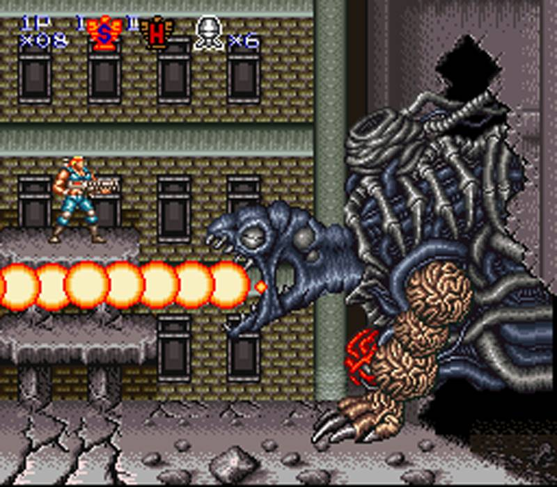 Contra III gameplay 2