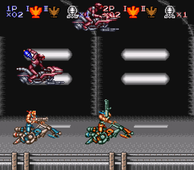 Contra III gameplay 3
