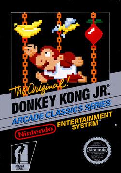 Donkey Kong Jr Cover