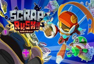 SCRAP RUSH!!, l'arcade game è ora disponibile su Steam e Nintendo Switch!