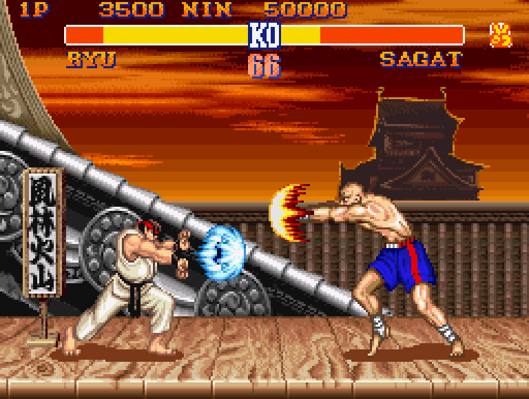 Street Fighter 2 gameplay 1