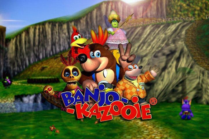 Banjo-Kazooie front