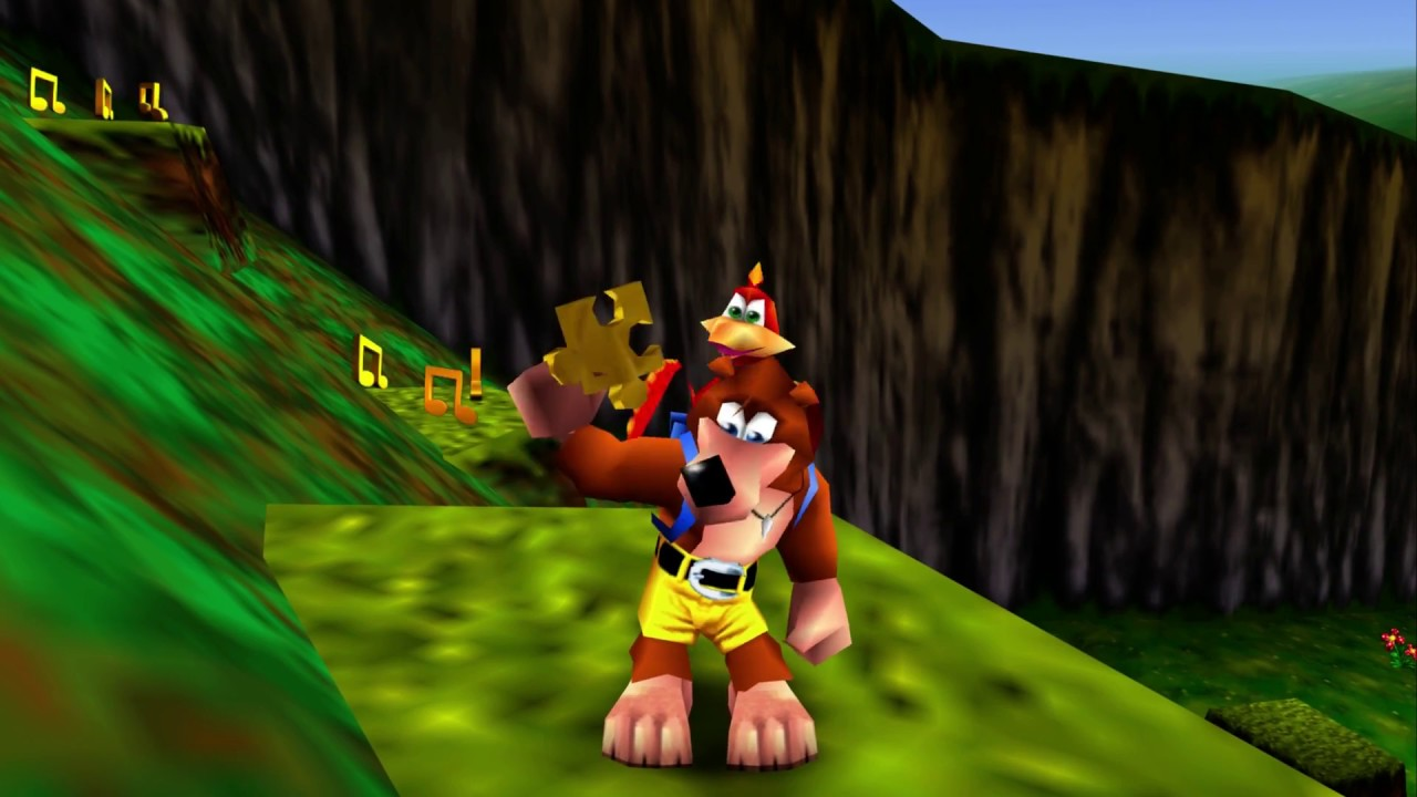 Banjo-Kazooie gameplay 1