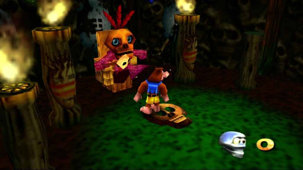 Banjo-Kazooie gameplay 2