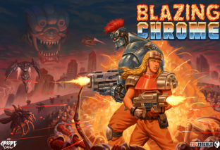 Blazing Chrome, il platform run and gun ispirato a Metal Slug e Contra sparerà l'11 luglio su PC e console!