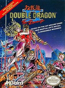 Double Dragon II front