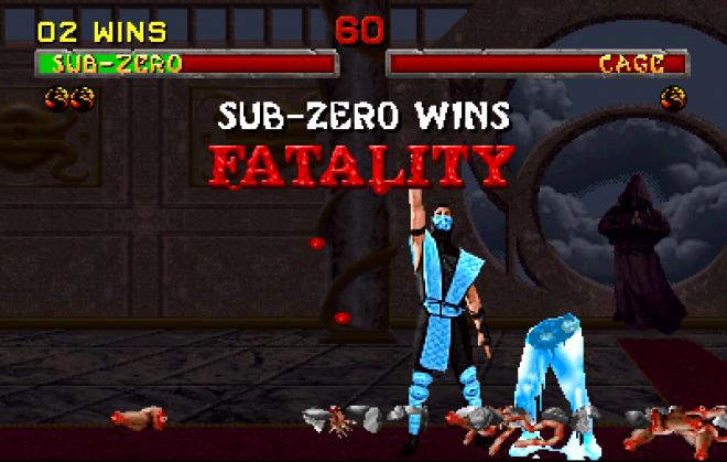 MK 2 Sub zero fatality