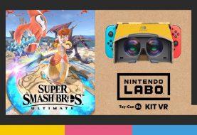 Super Smash Bros. Ultimate, l'aggiornamento 3.1 ha aggiunto la nuova Modalità VR!