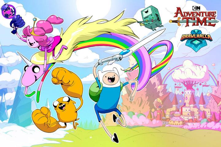 Finn, Jake e la Principessa Gommarosa di Adventure Time si aggiungono al cast di Brawlhalla