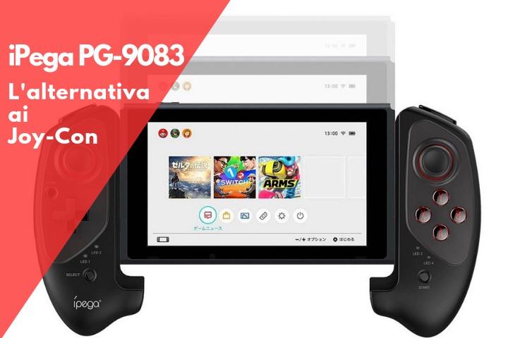 iPega PG-9083: la prima alternativa ai Joy-Con di Nintendo Switch – Recensione