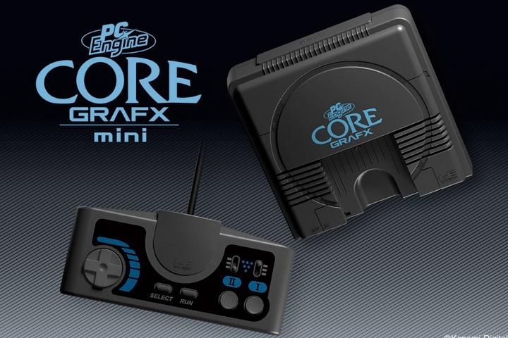 PC Engine Core Grafx mini, svelati nuovi titoli presenti sulla console di Konami!