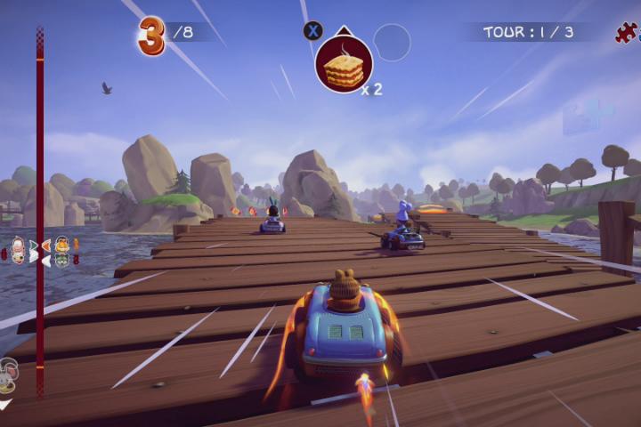 Garfield Kart Furios Racing annunciato per PS4, Xbox One, Switch e PC