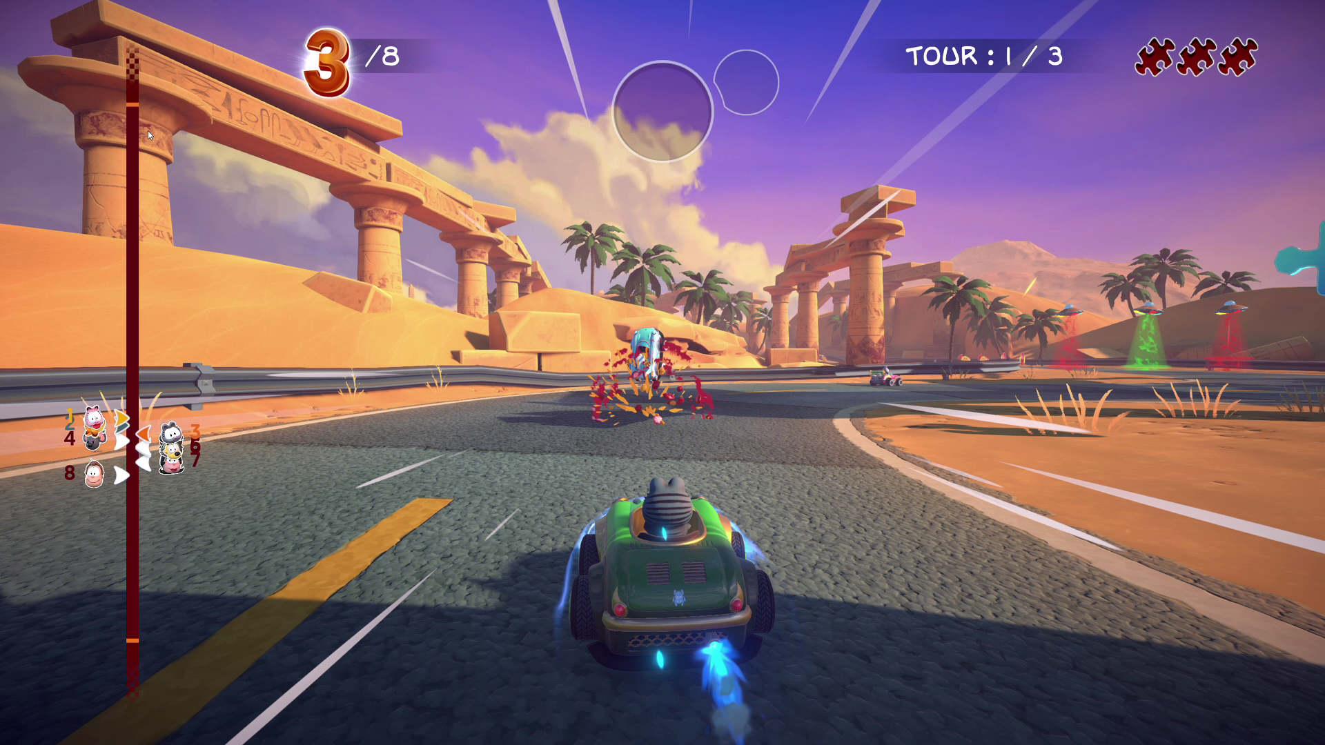 Garfield Kart Furios Racing