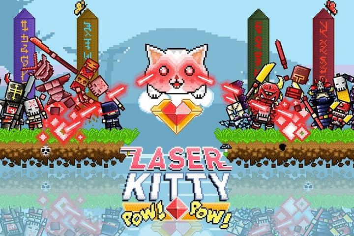 Laser Kitty Pow Pow, i gattini che sparano raggi laser sono arrivati su Nintendo Switch!